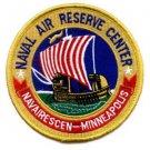 United States Navy NAVAL AIR RESERVE CENTER MINNEAPOLIS Minnesota Military Patcg