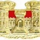 US Army Combat Engineer Large Badge Pin back 3 inch