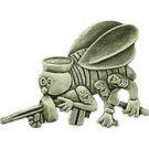 "US Navy seebees emblem Pin 1"""