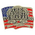 The Right To Bear Arms Pin