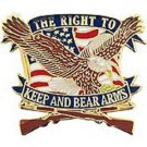 The Right To Keep and Bear Arms Pin