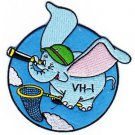 U.S. Navy VH-1 US NAVAL Aviation Air Rescue Squadron One Military Patch DUMBO SQ