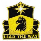 United States Army 151st Cavalry Regiment Patch motto, LEAD THE WAY