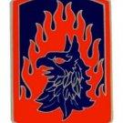 US Army 12th Aviation Brigade Combat Service Badge (2 inch)