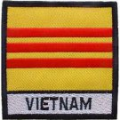 Vietnam Flag With Tab Patch