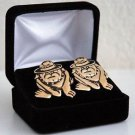 USMC Bulldog Cuff Links Set