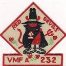 USMC VMFA-232 Marine Fighter Attack Squadron Patch # 2