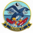 US Navy PATROL SQUADRON 22 (VP-22) BLUE GEESE Patch