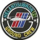 US Navy Helantisubron 121 Ground Crew Helicopter Anti Submarine Vintage Patch