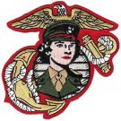 USMC Women Marines EGA Eagle, Globe, and Anchor Patch