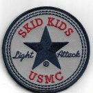 USMC Skid Kids Light Attack Patch Vel Backing