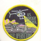 US BORDER PATROL AIR OPERATIONS OBSOLETE PATCH POLITICALLY CORRECT Novelty Item