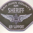 US San Juan County Air Support NM Sheriff Patch novelty Item