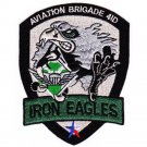 US Army Aviation Brigade 4th Iinfantry Division Patch IRON EAGLES