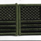 Set of 2 OD Green American Flags Patches