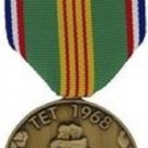 Vietnam Tet Offensive Commemorative Medal and Ribbon