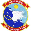 US Navy HC-2 Helicopter Combat Support Squadron HELSUPPRON TWO Patch