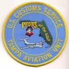US Customs Service Tampa Aviation Unit Novelty Patch