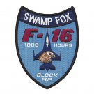 USAF 157th Fighter Squadron Patch SWAMP FOX 1000 HOURS