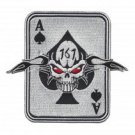US Army 1st Special Forces Group ODA -161 Military Patch - ACE OF SPADES