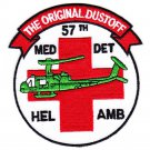 US Army 57th Aviation Medical Detachment Helicopter Ambulance Dustoff Patch