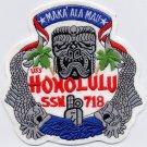 US Navy USS Honolulu SSN 718 Patch
