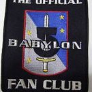 The Offical Babylon Fan Club Patch