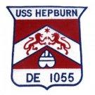 US Navy USS Hepburn DE-1055 Patch