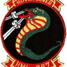 USMC HML-367 Marine Light Helicopter Squadron Patch Hover Cover