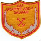 US Navy USS Grapple ARS-7 Salvage Patch