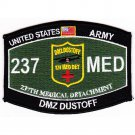 US Army 237th Medical Detachment Occupational Specialty Rating MOS Dustoff Patch