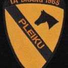 US Army 1st Cavalry Division Patch Ia Drang 1965 Pleiku Vietnam