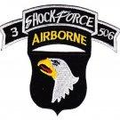 US Army 101st Airborne Div 506th Aiborne Infantry Regiment 3rd Battalion Patch