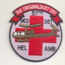US Army 57th Medical Detachment Air Ambulance Vietnam Helicopter Dustoff Patch