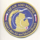 US CUSTOMS & BORDER PROTECTION, GREAT LAKES AIR & MARINE BRANCH  Novelty Patch