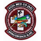 US Army 812Th Aviation Medical Company Air Ambulance Dustoff Patch