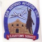 US Customs Service San Antonio Aviation Unit Patch novelty item
