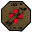 US Army 159th Medical Detachment Air Ambulance Helicopter Patch Dustoff OD