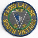 Good Morning Vietnam US Army Signal-Communications-1330-RADIO LAI KHE So Patch
