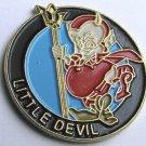 USAF LITTLE DEVIL CLASSIC NOSE ART LAPEL PIN BADGE 1 INCH