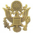 """US Army Officer Antique Badge Pin (2-1/2"""")"""