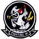 US Navy VF-41 Fighter Squadron Aviation Unit Patch - Fighting 41