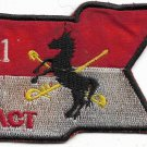 US Army 11th act Air TRP Thunderhorse Vietnam Vintage Patch
