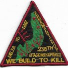 US Army 235th Atack Helicopter Company  Delta 2 DMZ Vietnam Vintage Patch