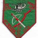 US Army RT INDIANA CCN THAM SAT 5th SF Grp MACV-SOG Team Vintage Vietnam Patch