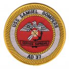 US Navy AD-37 USS Samuel Gompers Patch
