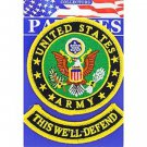 United States Army This we'll Defend Military Patch With Tab