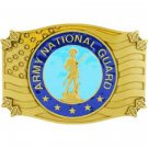 United States American Army National Guard Belt Buckle
