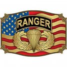 United States American Army Ranger Belt Buckle