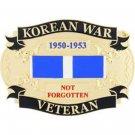 United States American KOREAN WAR VETERAN Belt Buckle
